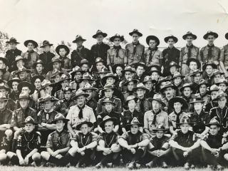 [Boy Scouts, Sea Scouts, Rovers] Panoramic Photograph of The First Canadian Jamboree - July 16-24, 1949 at Connaught Camp - Ottawa