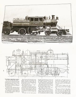 Locomotive Engineering : A Practical Journal of Railway Motive Power and Rolling Stock - 1895 Complete Year