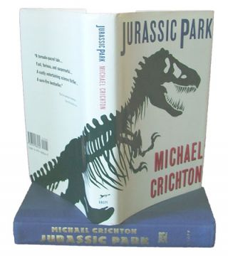 Jurassic Park (Books into Film, Review Copy). Michael Crichton.