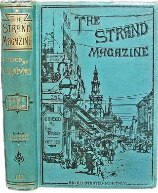 The Strand Magazine (Volume XXXIX - January to June 1910) (H.G. Wells, P.G. Wodehouse, Early Photographs). George Newnes.