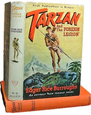 Tarzan and the Foreign Legion (Books into Film). Edgar Rice Burroughs.