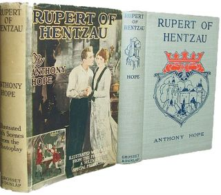 Rupert of Hentzau (Photoplay, Books into Film). Anthony Hope.
