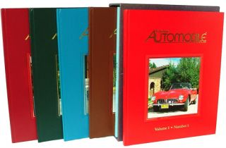 Collectible Automobile - Volume 1, Numbers 1 - 6 (Signed and Numbered Limited Edition). John Biel, -in-Chief.