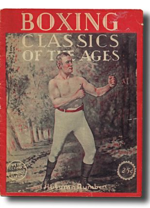 Boxing Classics of the Ages: Self-Defense Photo Album, Vol.1 No. 1. Joe Burten.