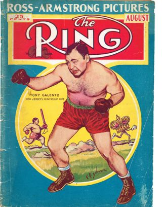The Ring. World's Foremost Boxing Magazine: Vol. XVII No. 7 - August, 1938. Nathaniel Fleischer.