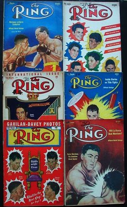 The Ring. World's Foremost Boxing Magazine: April, June, August, October, November & December 1953 (six issues). Nathaniel Fleischer.